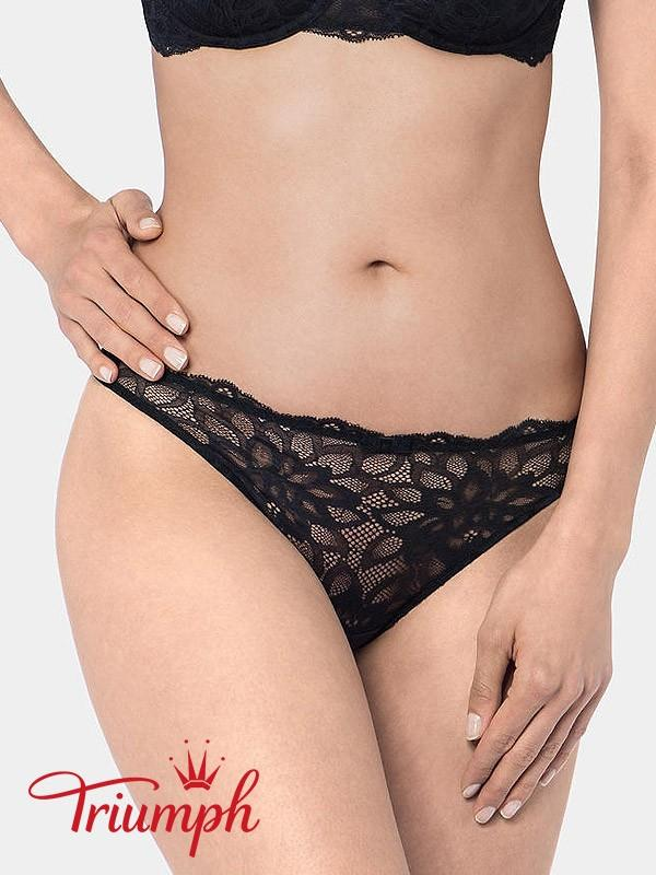 "Triumph kelnaitės stringai ""Dream Spotlight String Black"""