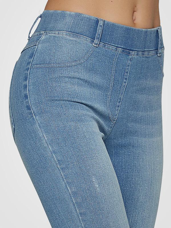 "Ysabel Mora užpakaliuką pakeliantys džinsai ""Amada Push-Up Light Blue Jeans"""